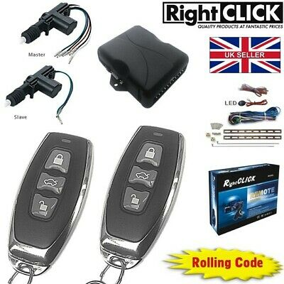 "2 door Central Lock / Locking Kit Remote Keyless ""HIGH QUALITY"" CLR212-2d"