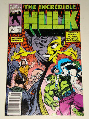 Marvel Hulk The Incredible Issue # 387 Nov 1991 'hiding Behind Mosques' Gd Con