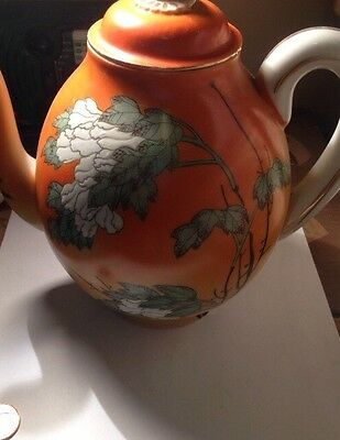 Antique Chinese? Hand Made Tea Pot Signed