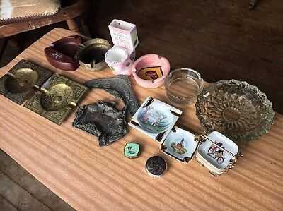 Collection Of Ashtrays