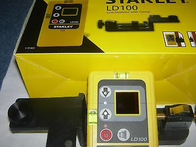 stanley line detector with clamp for outside work where you cant see the line