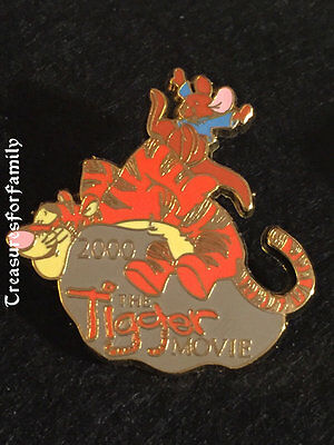 Disney Pin 100 Years of Dreams #49 Tigger Movie Roo 2000 FREE SHIP