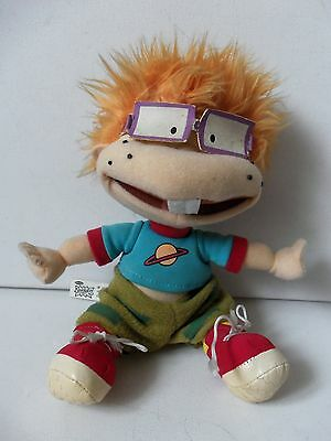 Nickelodeon Rugrats Chuckie Finster Plush Soft Toy Figure TV Film Viacom Doll