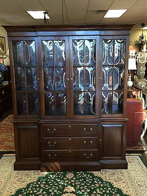 Ethan Allen China Cabinet at The Raleigh Furniture Gallery
