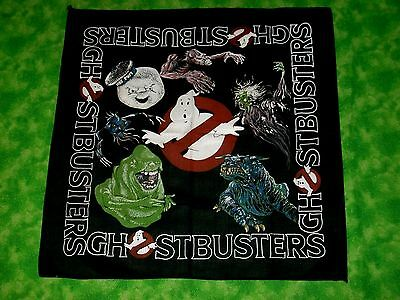 VTG 1980s Ghostbusters Movie Promo Bandana OLD DEAD STOCK NEVER WORN