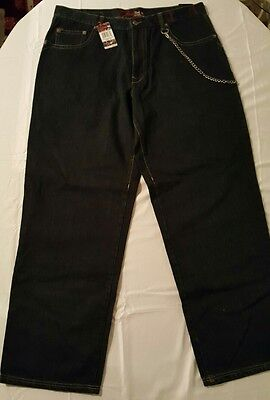Eminem's Shady LTD Blue Jeans with Chain
