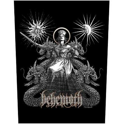 Official Licensed - Behemoth - Evangelion Sew On Back Patch Death Metal