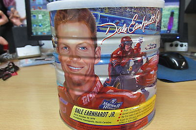 Dale Earnhardt Jr 2003 Limitd Edtion Maxwell House Coffee Can