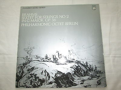 Brahms String Sextet No.2 In G Op.36  - 1968 Stereo Philips Sal 3763