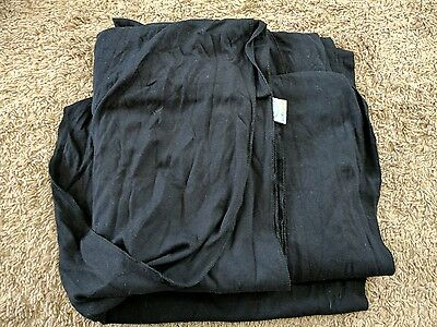 Moby Wrap Cotton Baby Carrier Black Pre Owned