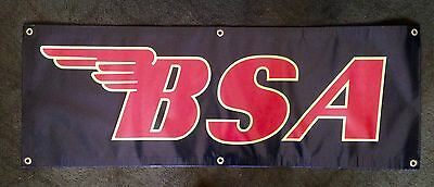 "BSA Banner  44"" x 16"" New, not applique, printed   Nice!"