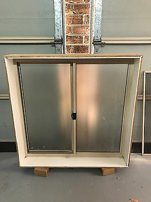 Aluminum Sliding Window, Stegbar, 895mm high x 905mm wide with Flyscreen