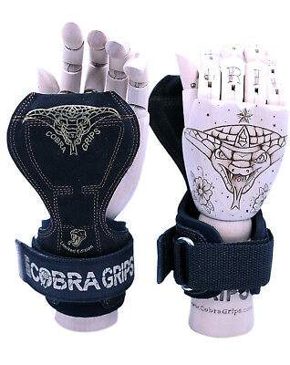 Cobra Grips PRO Series Weight Lifting Straps Wraps Grips Gloves Gym Hooks