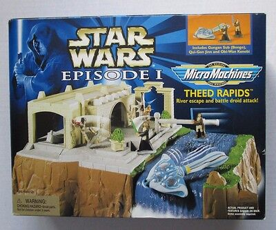 RARE Star Wars Episode I Micro Machines THEED RAPIDS NEW & SEALED 1999 VHTF