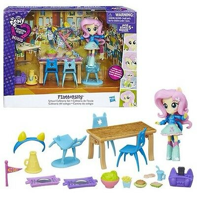 My Little Pony Equestria Girls Minis Fluttershy School Cafeteria Accessories Set