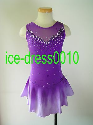 Exclusive custom Ice Skating Dress Brand New #5485 size 14