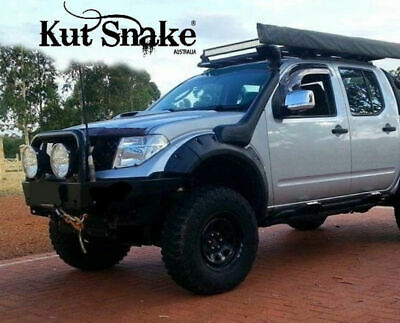 Kut Snake ABS Flares for Nissan Navara D40 2005-2015 Front Wheels