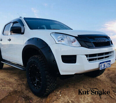 Kut Snake ABS Flares for Isuzu DMax 2012-2016 - Front Wheels