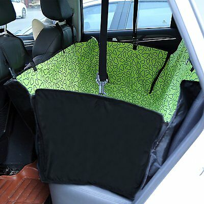 Amzdeal Washable Waterproof Double Layer Dog Car Seat Hammock Cover Mat Blanket