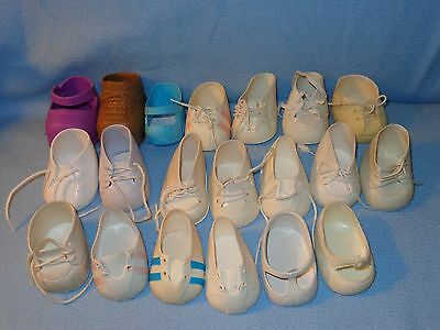 Cabbage Patch Doll Shoes Lot MIS-MATCHED, Singles, Not Pairs - Vintage & Modern