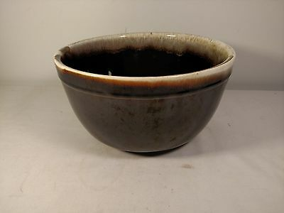 Pfaltzgraff Pottery Drip Mixing Bowl, large 10 inches, Mid-Century, 1970s  NR