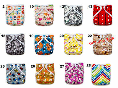 SALE! 12 KaWaii Baby Happy LeakFree One Size Diaper Covers-Assorted Prints