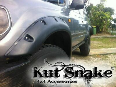 Kut Snake ABS Flares for Toyota Landcruiser 80 Series Front Wheel 2pc 1990-97