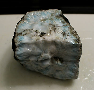 LARIMAR Lapidary Rough - 1218g Solid Material high quality old collection