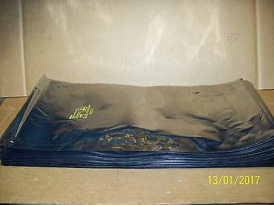 """100 ESD anti static bags 8"""" X 18"""" opening is 8"""""""