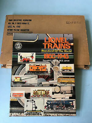 Lionel Trains Standard of the World 1900 – 1943 by Fraley 1976 New in Box