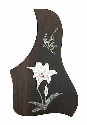 Rosewood Pickguard Acoustic/Classical Guitar Rightside, free ship, Lily-PGTLRC01