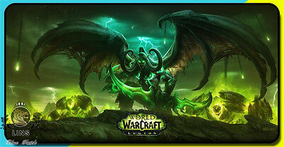 World of Warcraft game Burning Crusade Demon Hunter Mouse pad large size