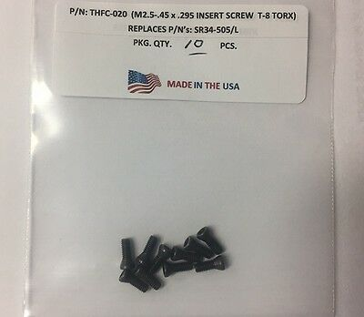 10 Pieces THFC-020 Insert Screw: SR34-505/L