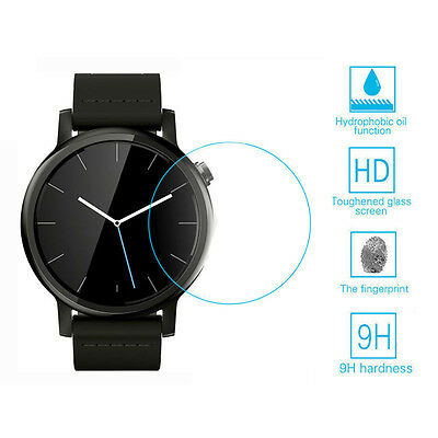Tempered Glass Screen Protector Universal for Round Diameter 33mm Smart Watch
