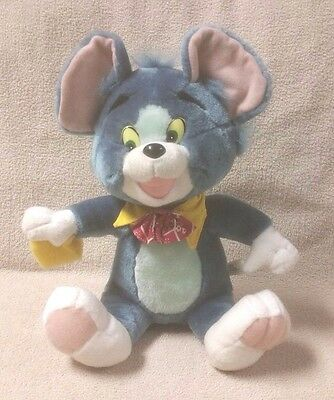 """Vintage TOM the Cat TOM & JERRY 12"""" Plush Stuffed Toy Doll SOFT THINGS VGC"""