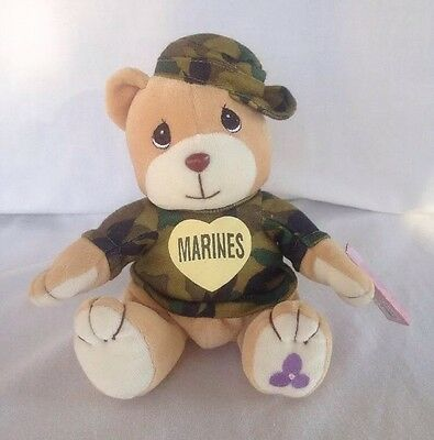 MARINES Enesco Precious Moments Special Limited Edition Tender Tales Bear