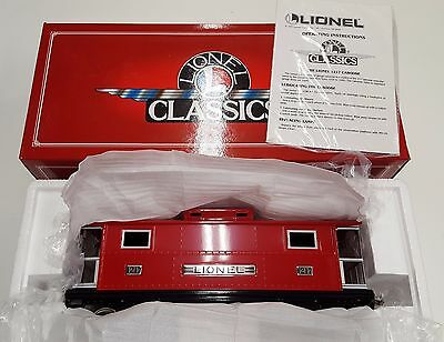 Lionel Classics 6-13702 No 1217 Standard Gauge Red Caboose New In Box 200 series