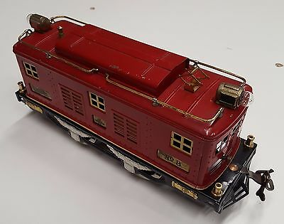 Lionel #8 Model Train Engine Maroon Red
