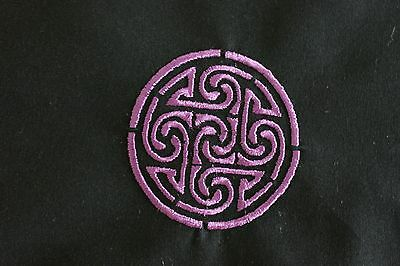 Purple-Celtic-Irish-Pentacle-Cloth-Crystal-Spell-Wicca-Witch-Goth-Pagan