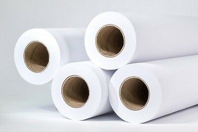 "1 Roll Of Plotter Paper 36"" x 150' HP Designjet 20 lbs CAD 2"" Core 92 White"