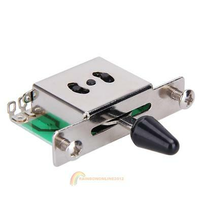 Colorful 5 Way Selector Electric Guitar Pickup Switches Toggle Lever Switch New