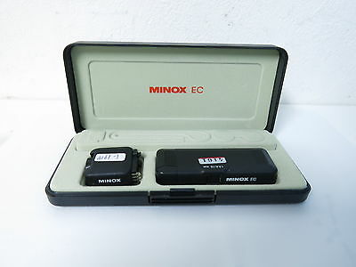 Minox EC 1:5.6/15mm Subminiature Camera in Original Box FREE SHIPPING JAPAN