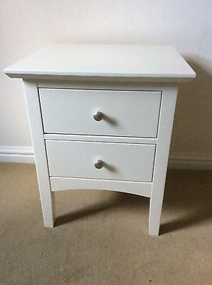 Bedside Chest of Drawers - M&S Hastings Ivory