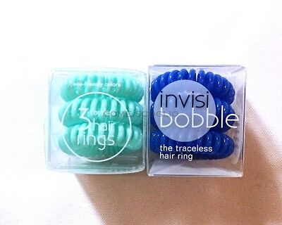 **YOU CHOOSE SHADE** Invisibobble The Traceless Hair Ring Set of 3