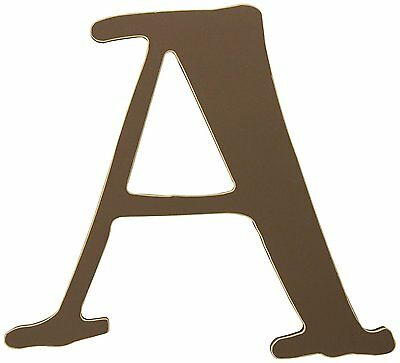 Arrivals The Letter A, Chocolate Brown
