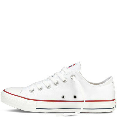 CONVERSE CHUCK TAYLOR ALL STAR OX M7652C OPTICAL WHITE / WEISS WEIß