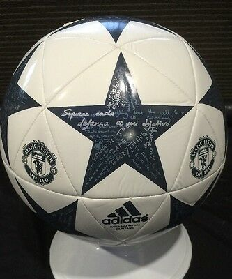 Manchester United FC Football Adidas Premier League Size 5 Soccer EPL Ball  NEW