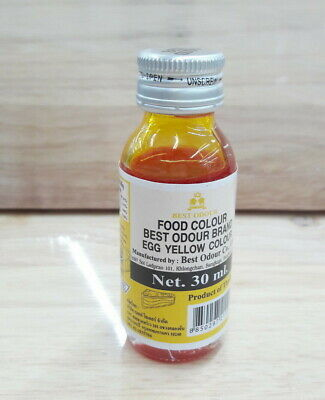 30 ml ,1 Bottle BEST ODOUR Brand Food Color Egg Yellow Color Free Shipping