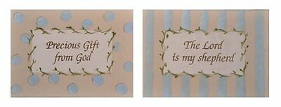 Cotton Tale Designs Heaven Sent Boy Wall Art