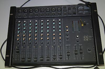 GREAT CONDITION Peavey Unity 1000, 8-Channel Vintage Rack Mixer
